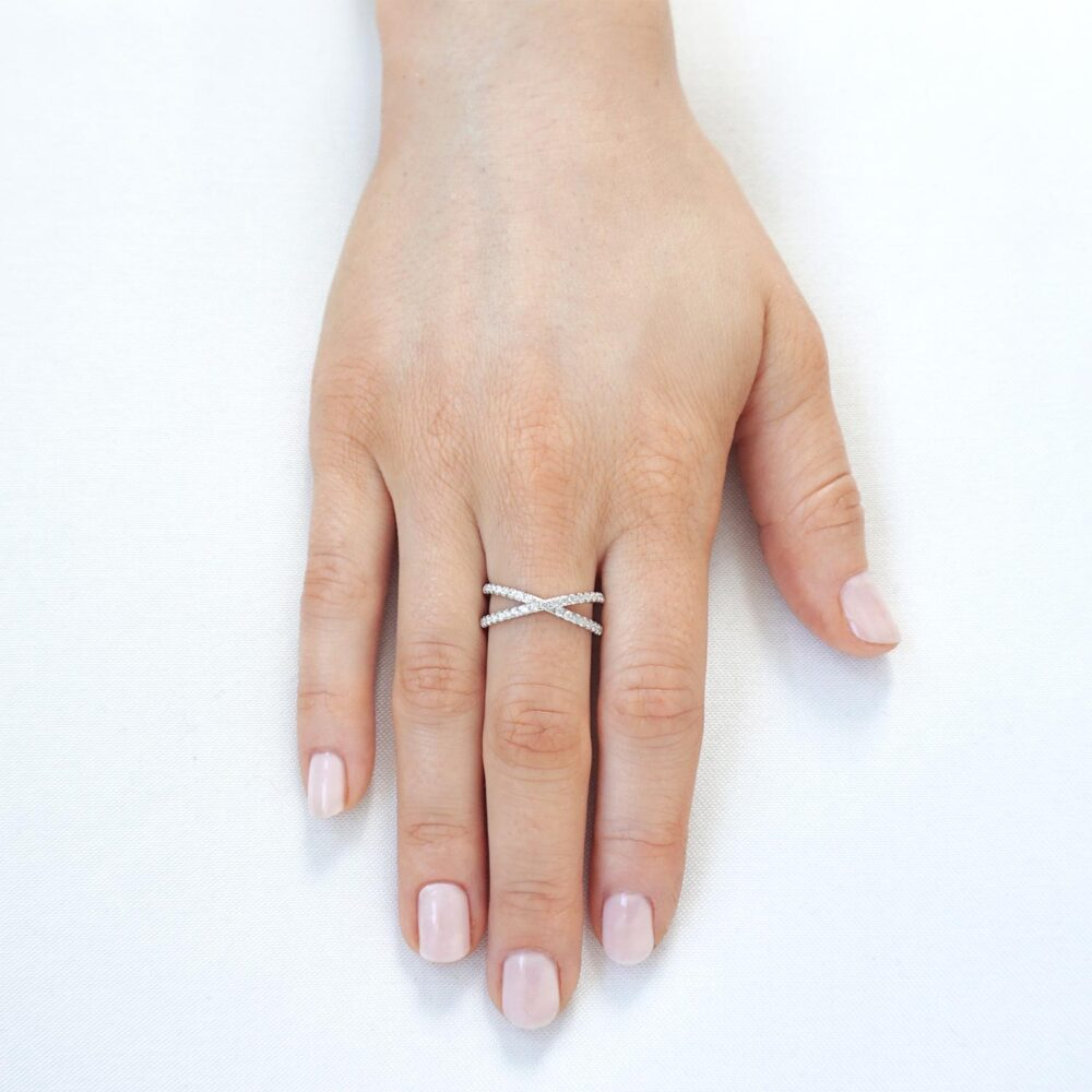 Maria Ring Silver
