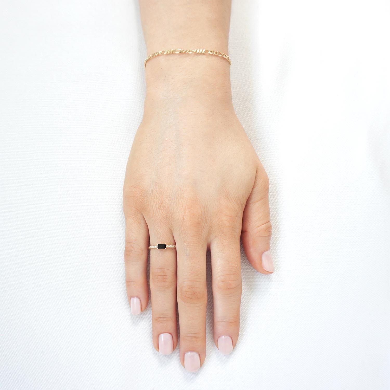 Bitte Enja Guld Armband Ring