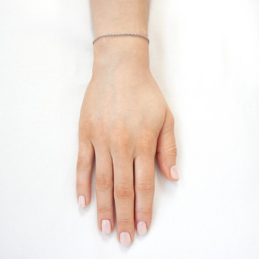 Iris Bracelet Silver