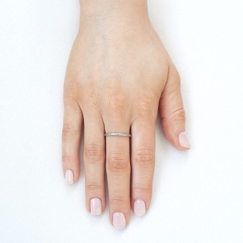 Jasmin Ring Silver