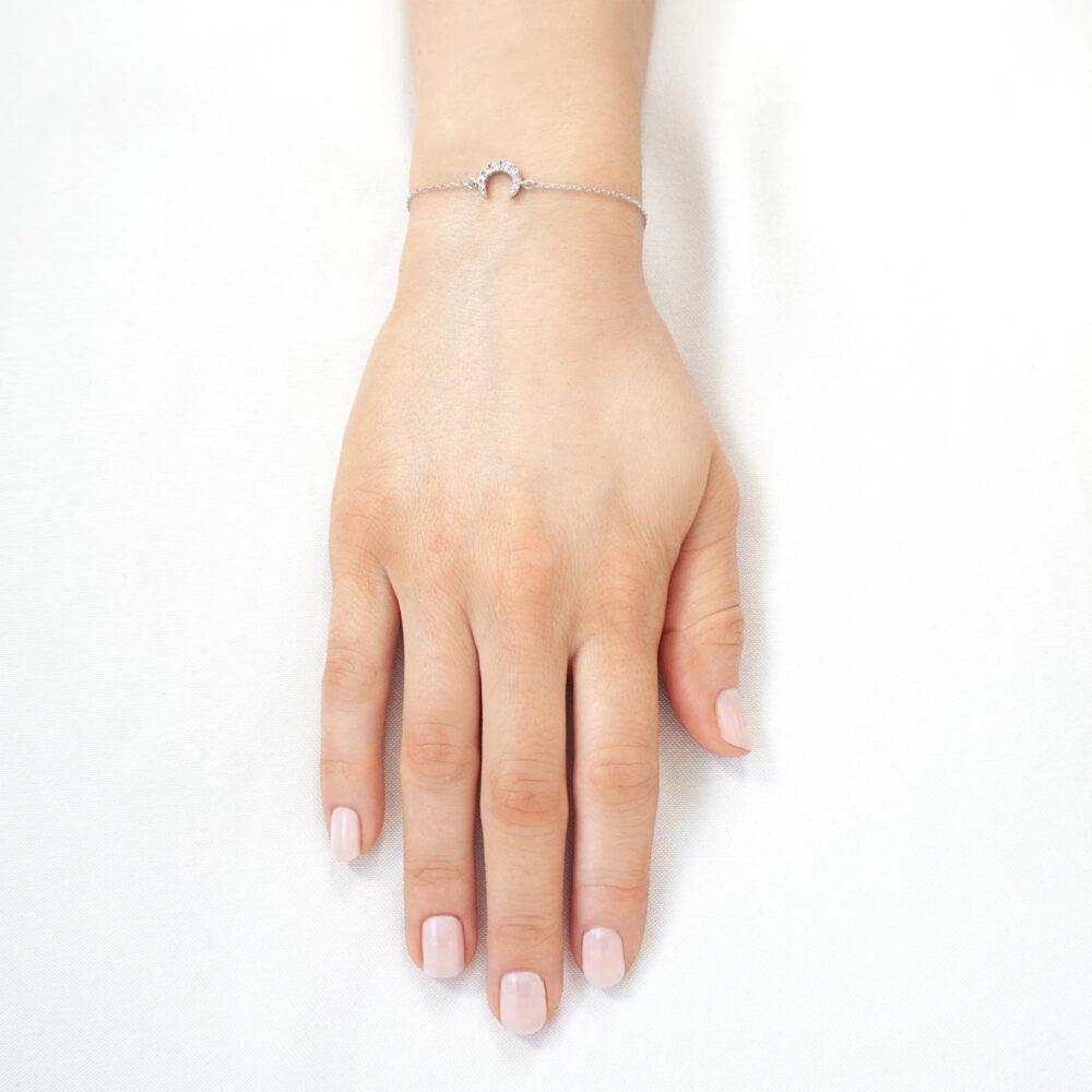 Moon Bracelet Silver