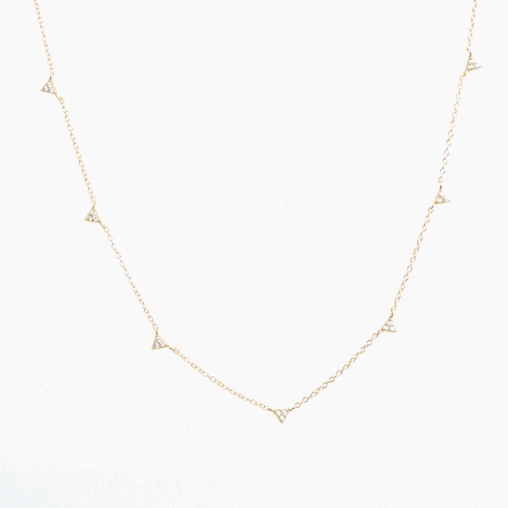Victoria-Halsband-Guld-Nesspah