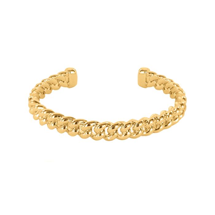 Braided-Cuff-Bracelet-Gold