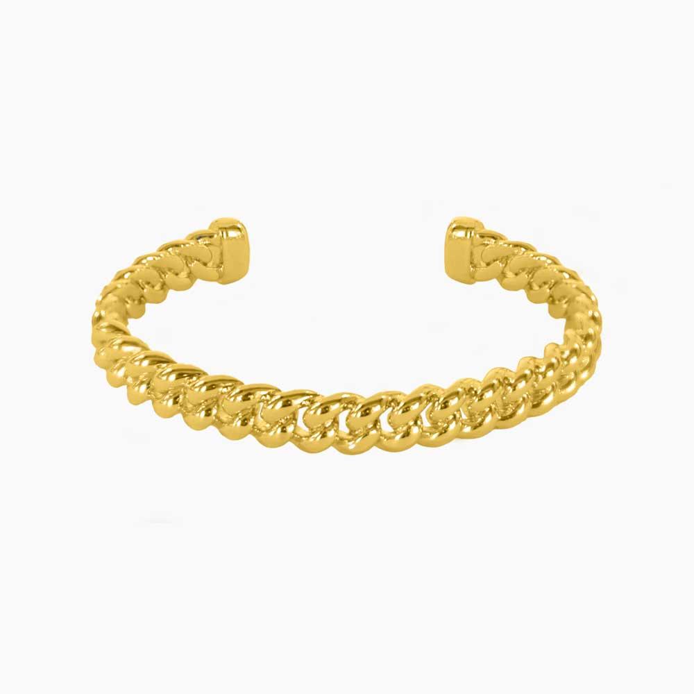 Braided-Cuff-Bracelet-Guld