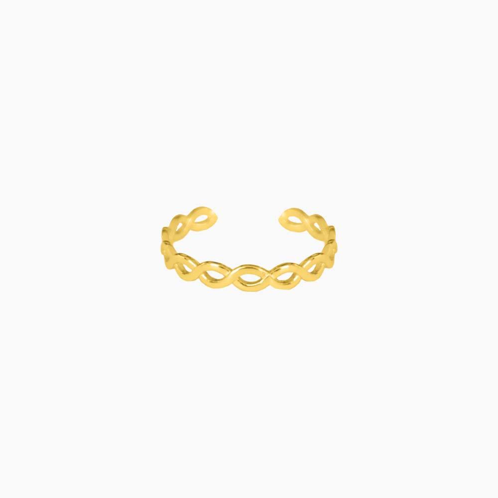 Cord-Mini-Ring-Guld