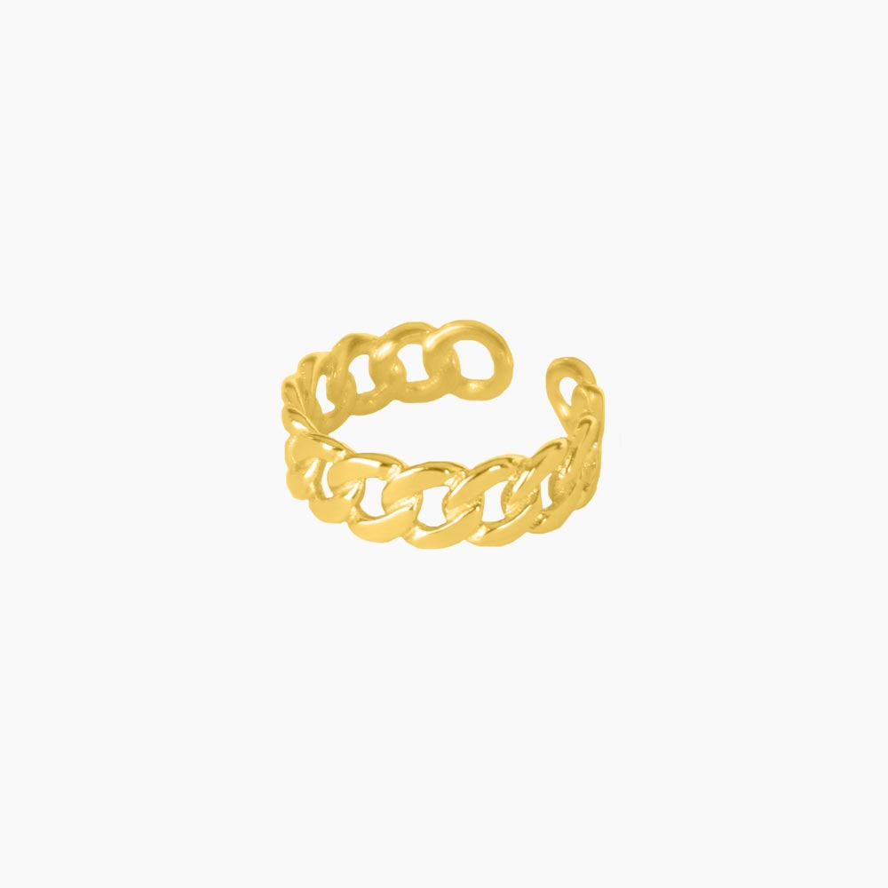Lush-Chain-Ring-Guld