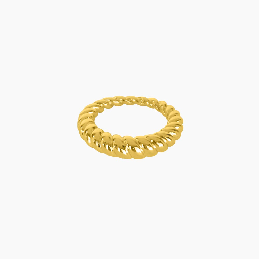 Ravine-Outer-Twisted-Ring-Guld