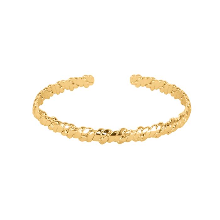 Riverside-Cuff-Bracelet-Gold