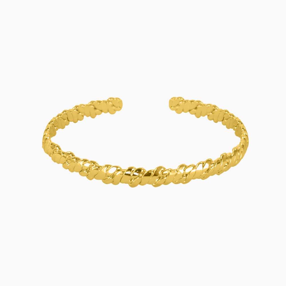 Riverside-Cuff-Bracelet-Guld