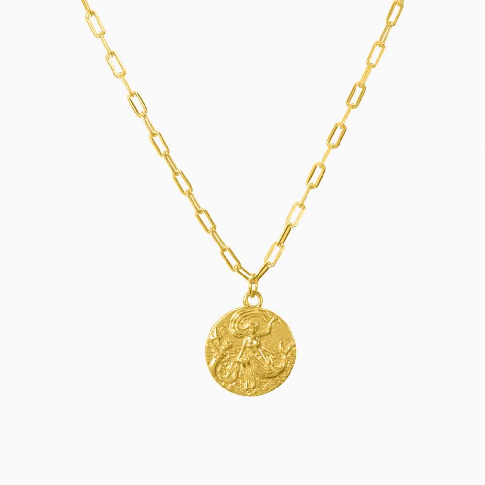 Serena-Necklace-Guld