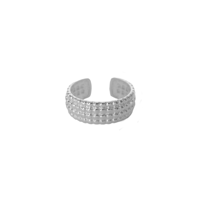 Cave-Ring-Silver