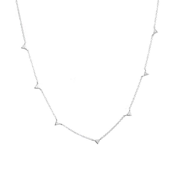 Victoria-Halsband-Silver-Nesspah