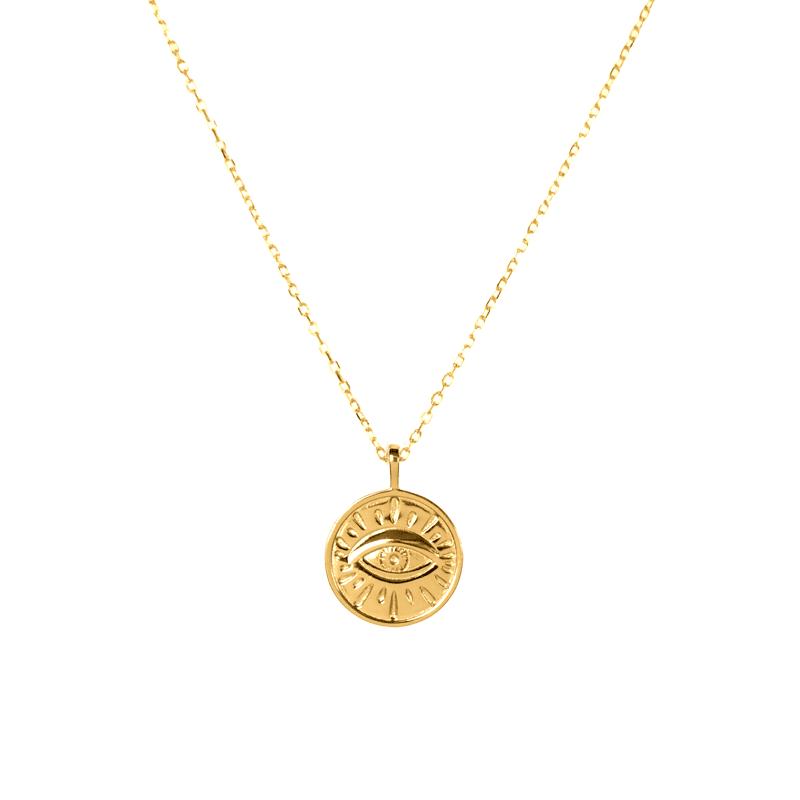 Castle-Necklace-Gold_