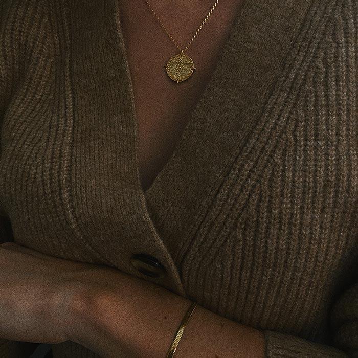 Holler-Necklace-Gold
