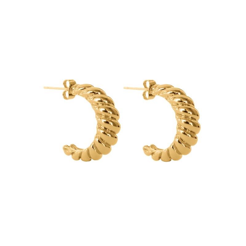 Leon-Earrings-Gold